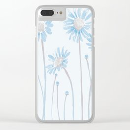 FLOWER PATTERN1 Clear iPhone Case