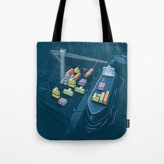 Game Port Tote Bag