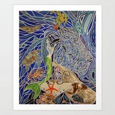 Spirits of the Sea Art Print