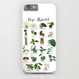 Hoya Alphabet  iPhone Case