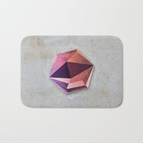 Mineral Hexagon Bath Mat
