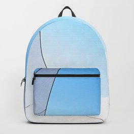 Abstract Sailcloth c3 Backpack