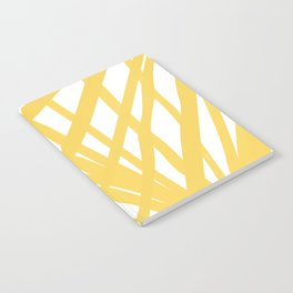 Dandelion in Yellow by Friztin Notebook