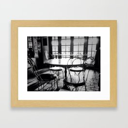 Too soon to Remember Framed Art Print