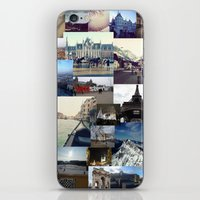 europe iPhone & iPod Skins featuring Europe by Nikki Morgan