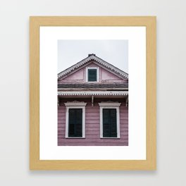 Windows Trio Framed Art Print
