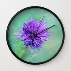 Fantasy Garden - Lilac Beauty Wall Clock