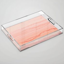 WITHIN THE TIDES - LIVING CORAL Acrylic Tray