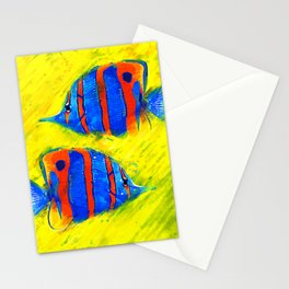 Fish II Stationery Cards