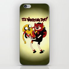 It's Wrestling Time!  iPhone & iPod Skin