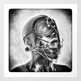 Sex Slave BDSM Art Print