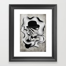 gentle smoke Framed Art Print