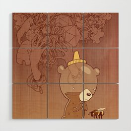Honeyrama Wood Wall Art
