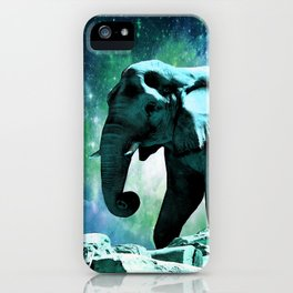 Galaxy Elephant of the Planet Pachyderm iPhone Case