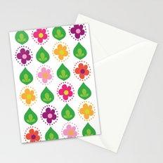 retro summer print Stationery Cards