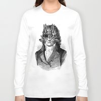 steampunk Long Sleeve T-shirts featuring Steampunk by DIVIDUS
