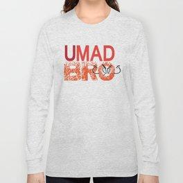 U Mad Bro Orange Long Sleeve T-shirt