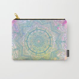 pink splash mandala Carry-All Pouch