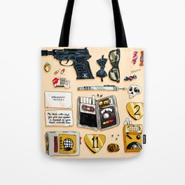 Open Channel D Tote Bag