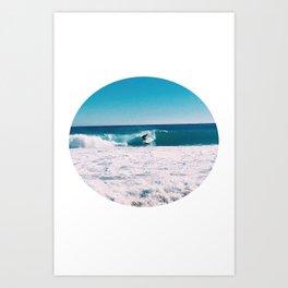 Surf Circle Art Print