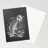 Narwhal Skewer Stationery Cards