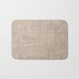 Len Sack Fabric Texture Bath Mat