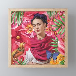 Forever Frida Kahlo Framed Mini Art Print
