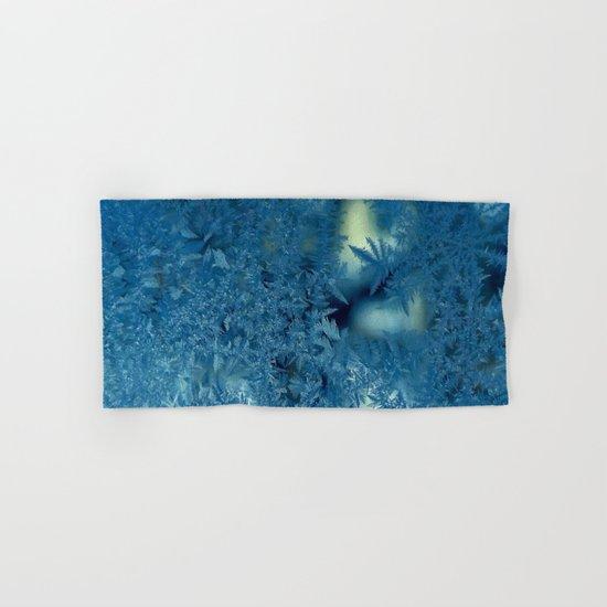 Frost patterns Hand & Bath Towel