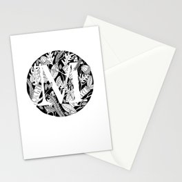 Woodsy M Stationery Cards
