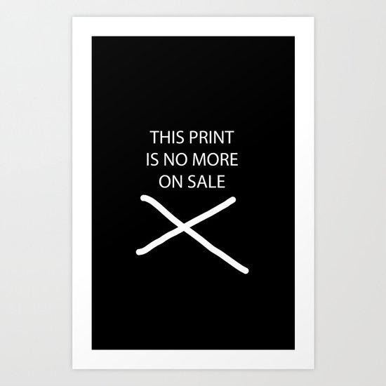 FLORAL ANCHOR Art Print