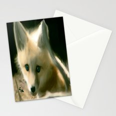 BLUE EYED FOX Stationery Cards