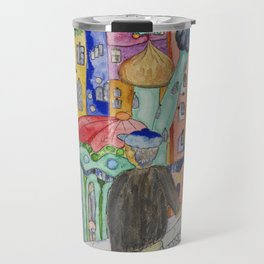 Looking at the town where I would like to live Travel Mug