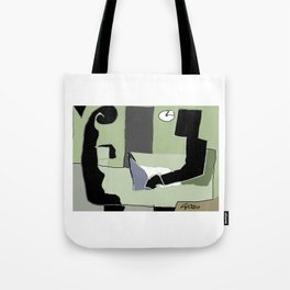The   Interview         by Kay Lipton Tote Bag