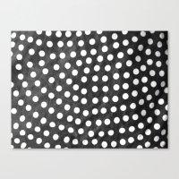 polka Canvas Prints featuring Polka by kirstenariel