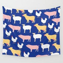 Farm Friends Wall Tapestry