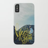 fairy tale iPhone & iPod Cases featuring Fairy Tale by Leah Flores