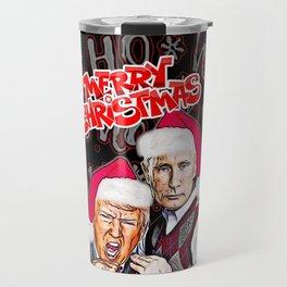 Merry Christmas From Trump And Putin Travel Mug