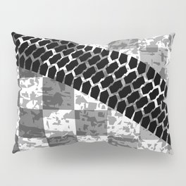 Flag Skid Mark Pillow Sham