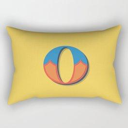 The Letter O Rectangular Pillow