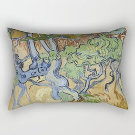 Tree Roots Rectangular Pillow