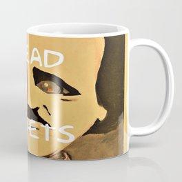 Poe, Dead Poets Art Coffee Mug