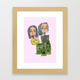 Two Homies and a Home Framed Art Print