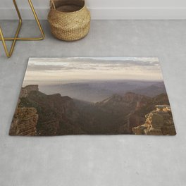Grand Canyon View from Saddle Mountain Rug