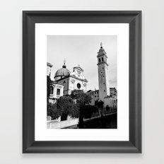 San Giorgio dei Greci Church Venice Framed Art Print