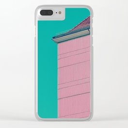 #106 Clear iPhone Case