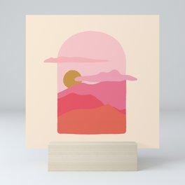 little window Mini Art Print