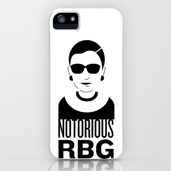 notorious rbg iphone case by katiekatherine society6