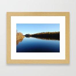 Clear waters Framed Art Print