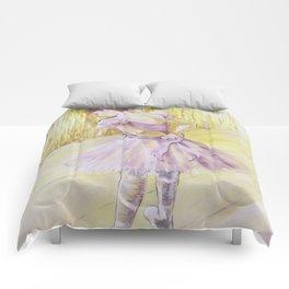 Olivia {ballet dancer} Comforters