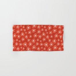 Camofloral Orange Hand & Bath Towel